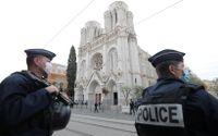 Kyrkan Notre Dame de Nice där terrordådet skedde.