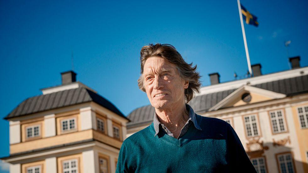 Ett museum tillägnat Johannes Brost och hans mor Gudrun Brost invigs i Laholm den 4 maj. Arkivbild.