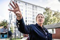 – Människor får inte själva bestämma hur de ska klä sig, eller ens anmäla en cykelstöld till polisen i områden som styrs av odemokratiska nätverk, säger Bettan Byvald.