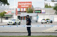 Tre personer skottskadades vid skjutningen i Kristianstad den 3 augusti. Arkivbild.