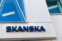 Byggbolaget Skanska presenterar delårssiffror. Arkivbild.