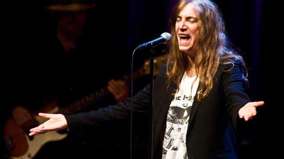 Patti Smith på Konserthuset.