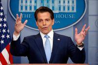 Anthony Scaramucci fick sluta som kommunikationschef i Vita huset efter bara tio dagar på jobbet. Arkivbild.