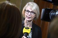 Elisabeth Svantesson, Moderaternas ekonomisk-politiska talesperson