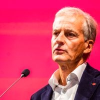 Norges nye statsminister, Jonas Gahr Støre.