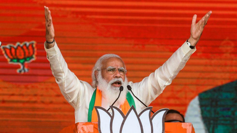 Indiens premiärminister Narenda Modi får hård kritik för regeringens coronahantering.