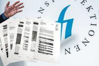Kritiken mot fyra banker, med totalt en halv miljon kunder, gömdes i hemligstämplade skrivelser.
