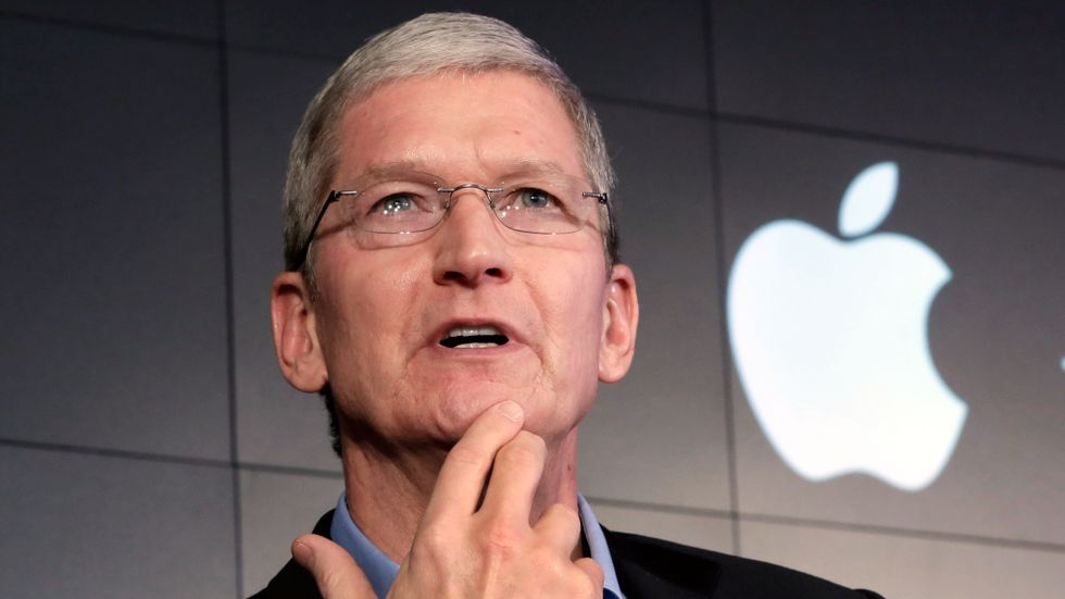 Apples vd Tim Cook.