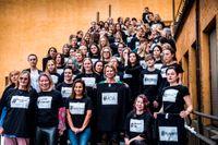 Representanter för 65 #metoo-upprop samlades i mars 2018 för att lämna över förslag på åtgärder till dåvarande jämställdhetsminister Åsa Regnér (S).