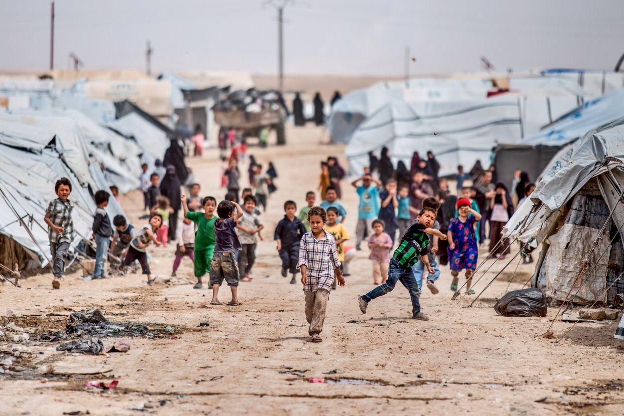 l Hol-lägret i Syrien.