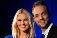 Sanna Nielsen och Robin Paulsson leder Melodifestivalen 2015.
