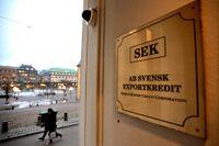 Svenska exportföretag ser generellt ljusare på sin finansiella situation nu jämfört med i våras, visar Exportkreditbarometern från Svensk Exportkredit (SEK). Arkivbild