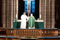 Morgonmässa i Uppsala Domkyrka med ärkebiskop Antje Jackelén i november i år.