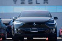 Tesla förlorar miljarder när jättekoncernen Stellantis slutar köpa utsläppsrätter av elbilstillverkaren. Arkivbild.