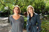 """Författarna till boken """"Mamma med ätstörning"""", Anna Ehn och Leone Milton."""