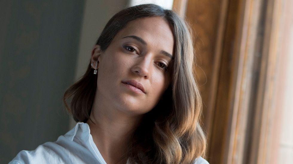 Alicia Vikander. Arkivbild.