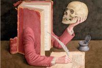 Bikt och självförbättring har historiskt sett varit ett vanligt syfte med att föra dagbok. Akvarell av Jonathan Wolstenholme.