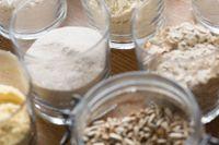 Det finns mycket att välja på - även för den som inte tål gluten. Majsmjöl, psylliumfrön, bovetemjöl, havremjöl, solrosfrön, pumpakärnor och rismjöl är några av ingredienserna.