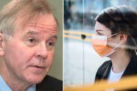 KI-rektorn Ole Petter Ottersen anser att munskydd ska användas på universitetet där social distansering kan bli svårt.