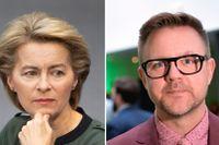 Ursula von der Leyen är föreslagen som ny ordförande för EU-kommissionen. Fredrick Federley (C) efterlyser en klimatpolitisk agenda.