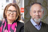 Karin Johansson, Svensk Handel, och Jonas Siljhammar, Visita.