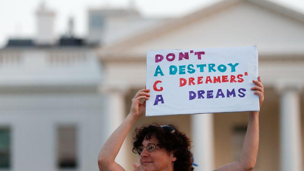 Striden om migrantprogrammet Daca fortsätter i USA, både i domstolarna och i kongressen. Arkivbild.