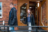 Zed Thullberg och Molly Molnar går i nian på Gubbängsskolan. Under våren har de delvis haft distansundervisning.