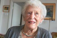 Herdis Molinder, född 1925, har fyra barn, tio barnbarn, sju barnbarnsbarn och en hel del klokskap.