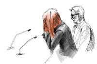 Rättegången mot kvinnan som är misstänkt för mord alternativt synnerligen grov misshandel mot sin dotter fortsatte på måndagen.