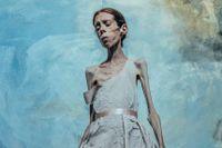 Självporträtt av Lene Marie Fossen.