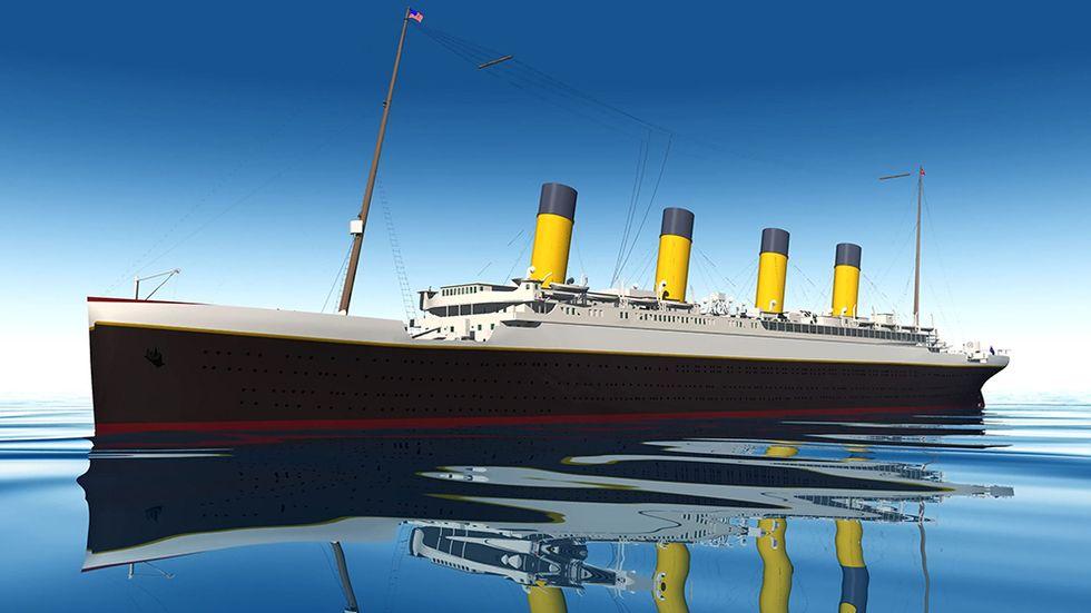 Titanic ska bli ett hotell i Kina.