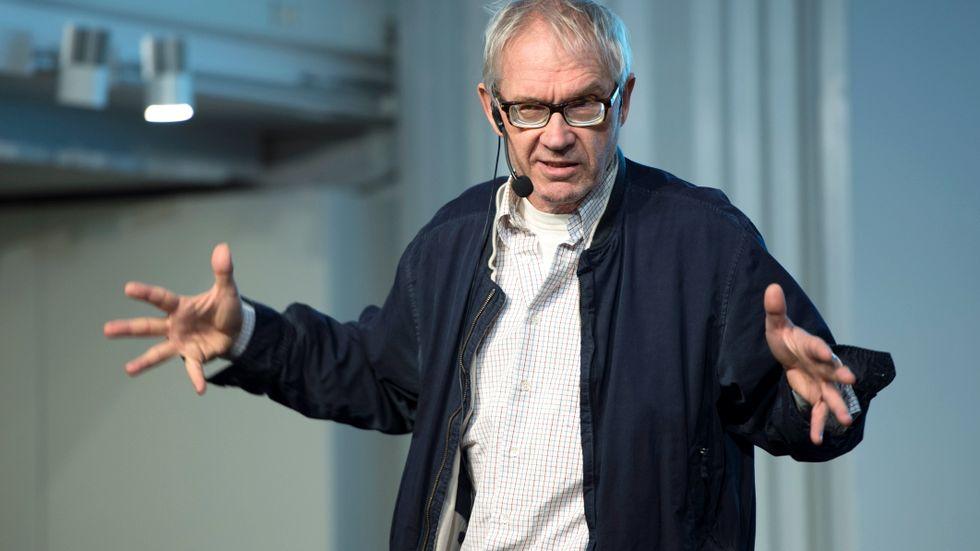 Konstnären Lars Vilks bortgång uppmärksammas i Danmark. Arkivbild från 2015.