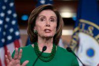 Demokraten Nancy Pelosi spelar en av huvudrollerna i krispaketsförhandlingarna. En roll som hon även hade vid finanskrisen 2008.