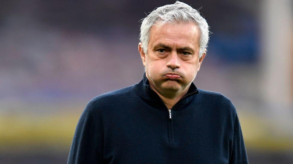 José Mourinho har fått sparken från Tottenham. Arkivbild.