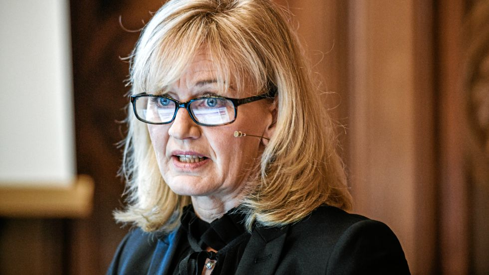 Svenska Handelsbankens vd Carina Åkerström.