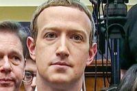 Mark Zuckerberg under utfrågningen.