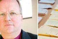 Biskopen i Uppsala stift, Ragnar Persenius, menar att många har röstat i årets kyrkoval för att stoppa Sverigedemokraternas framfart.