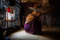 Hundratusentals rohingyer har flytt till grannlandet Bangladesh för att undkomma den burmesiska arméns våld. Arkivbild.
