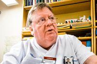 """""""Fler äldre kommer att hamna på sjukhusens akutmottagningar och där är ju redan situationen besvärlig"""", säger Gunnar Berglund, andre vice ordförande i Stockholms läkarförening."""
