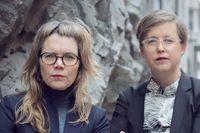Johanna Lindell och Lisa Pelling.