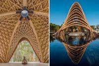5 imponerande bambubyggnader