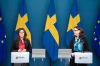Arbetsmarknadsminister Eva Nordmark (S) och utbildningsminister Anna Ekström (S) vill låta fler arbetslösa läsa in gymnasiet, med ersättning.