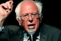 Bernie Sanders, 77, senator från Vermont som gör nytt försök att blir USA:s president.