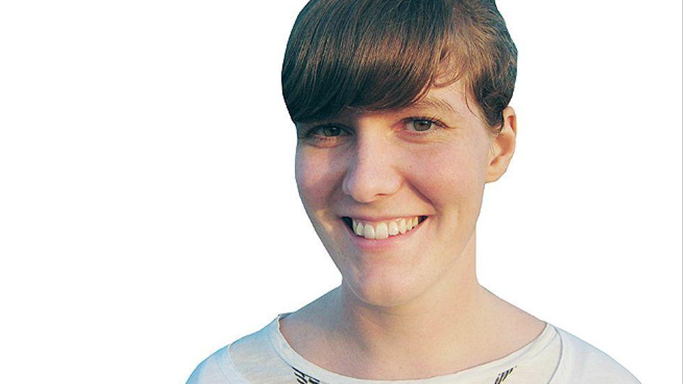 Ylva Byrman, som är ny språkbloggare på SvD.se