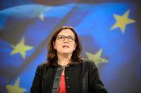 EU-kommissionären Cecilia Malmström.