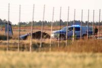 Ett flygplan har kraschat vid Örebro flygplats.