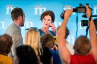 Flertalet partiledare – Kinberg Batra (M), Busch Thor (KD), Löfven (S), Lööf (C) och Åkesson (SD) – tog upp IS i sina tal.