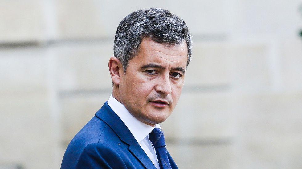 Frankrikes inrikesminister Gérald Darmanin. Arkivbild.