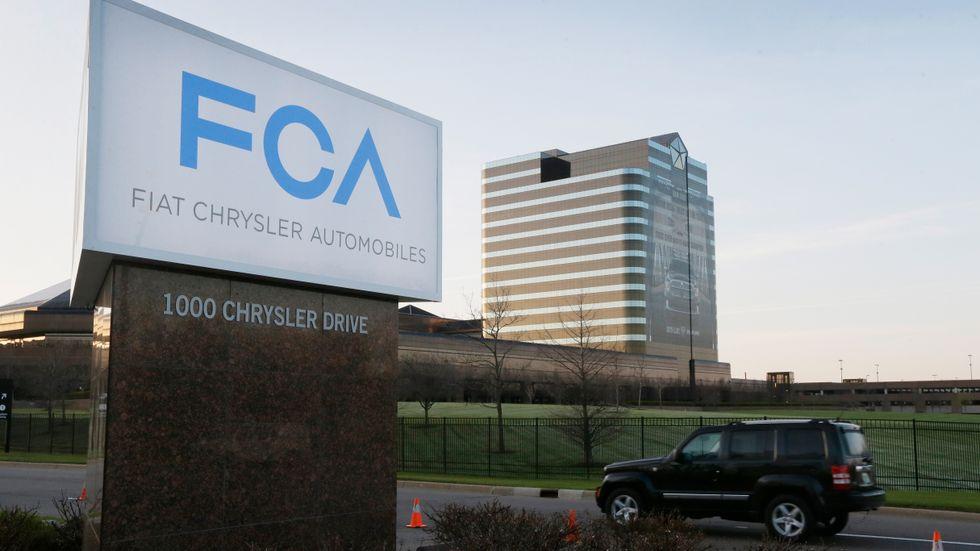 Fordonskoncernen Fiat-Chrysler återkallar nära 300000 minibussar. Arkivbild.