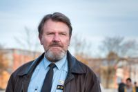 Ulf Boström är den sista integrationspolisen i Sverige. Arkivbild, Hjällbo 2017.